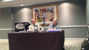 Roy Harris and Robin Sherman on the ethics panel