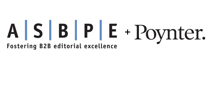 American Society of Business Publication Editors (ASBPE) to Relocate to Poynter Institute as Part of New Partnership