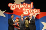 Catch a show—such as the Capitol Steps live.